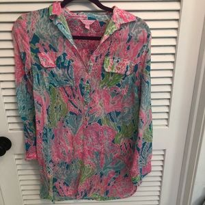 Lily Pulitzer Cover Up 👙